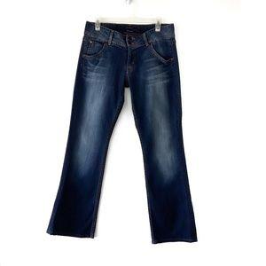 Hudson Signature Boot Cut Mid Rise Jeans